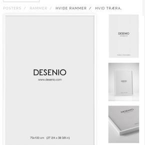 Sælger denne fine ramme fra Desenio. 70x100