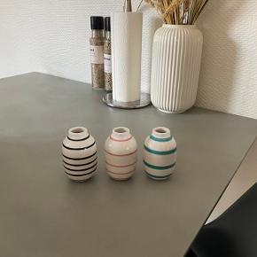 Små kähler vaser, fejler intet