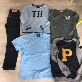 Lækkert tøj fra Tommy Hilfiger , ralph Lauren og pdl