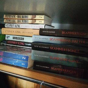 Bøger Skammerens datter serien står til salg samlet til 200.  Alle bøger sælges både samlet og hver for sig.  Byd   Mest Stephen King men et par andre bl.a. twilight   Geralds farlige leg - SOLGT