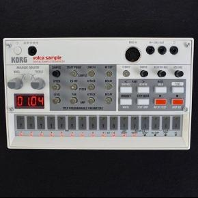 Korg Volca Sample + Korg original charger.Comes in original box. Like new.