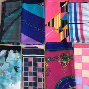 Super flotte vintage tørklæder i mange forskellige fine farver og designs. 30kr pr. stk. Ved køb af flere, vil jeg gerne give rabat.