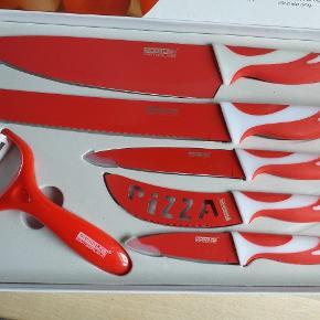 Helt nyt knivsæt  Vejl butikspris er 999,-