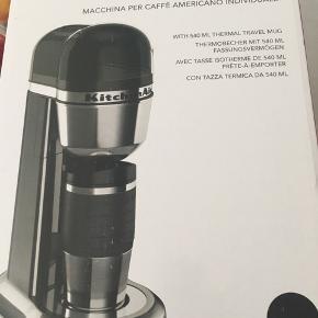 Coffee to-go kaffemaskine og ekstra coffee to-go termokop  Aldrig brugt