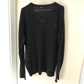 Ralph Lauren sweater i str XXL (brugt som oversized trøje af mig - er en M/L)