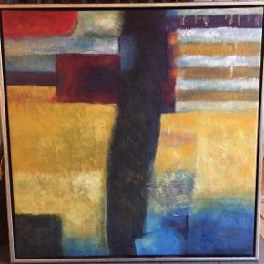 Super flotte malerier i målene 84x84 cm, sælges kun samlet