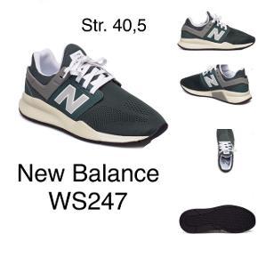 Grøn/grå og råhvid i str. 40,5.  Brugt højst 10 gange.  Se alle billeder.  Nypris: 800 kr.  Du får én voucher på 15% til en H&M butik (se billede 4) med skoene.  Fast pris på 400 kr. plus porto: - Forsikret med DAO: 38 kr. - Post Nord: 60 kr. (eget ansvar)  Betaling: kontant el. MobilePay.  Bytter ikke.  ANNONCEN SLETTES NÅR VAREN ER SOLGT, så kan du se dén, er varen ikke solgt.  *Useriøse henvendelser ryger videre til support*