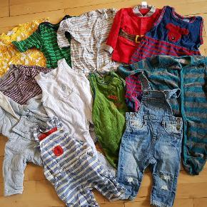 Det meste af dette har aldrig været brugt, eller er brugt få gange. Generelt om mine tøjpakker: Normalt er tøjet i fin stand - der kan dog være skrevet navn i, oftest på mærket, eller mærket kan være taget ud. Enkelte tøjstykker kan have lidt pletter eller fnuller, men det vil være sjældent.
