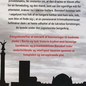 Velskrevet tysk spændingsbog af den mere politiske slags. Forfatteren, som regnes for en af Tysklands bedste krimiforfattere, udkommer for første gang på dansk med denne bog.  Pris: 25 kr