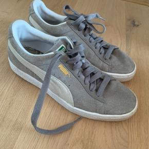 Puma suede grå - brugt få gange
