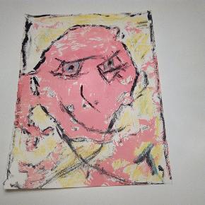 Sælger disse malerier UDEN Ramme.200 kr. Inklusiv fragt 27 x 36  cm  Følg med på min profil, flere malerier er til salg.