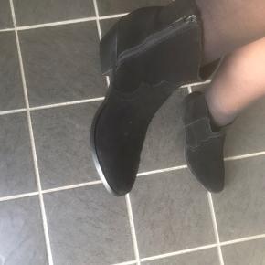 Helt nye ruskinds støvler - aldrig brugt før - 37