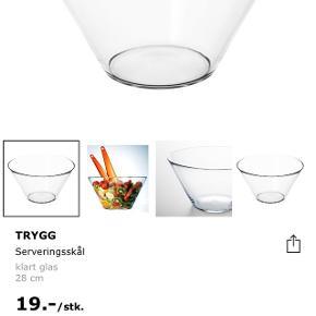 2 skåle fra Ikea (Trygg) Aldrig brugt 2 skåle: 20 kr i alt Kan afhentes i Humlebæk