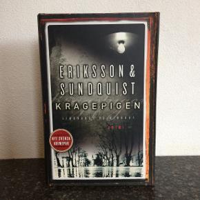 KRAGEPIGEN  AF JERKER ERIKSSON OG HÅKAN SUNDQUIST Krimi  Hardback. Med omslag. Helt ny.  Original udgave.