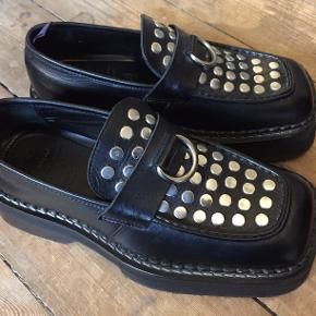 Amazing Eytys Black Phoenix Studded Chunky Loafer, never worn. Sold out most places!