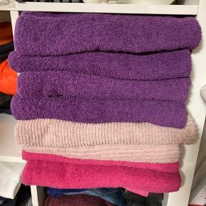 8 stk. badehåndklæder  70x140