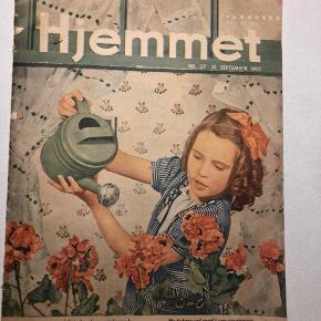 Hjemmet Retro magasin ugeblad fra 1951