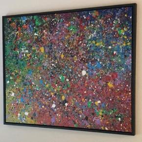 Maleri af ukendt kunstner sælges - 100cm X 80cm. Skriv PB.