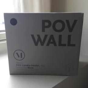 Sælger 2x væglysestager fra menu. Aldrig ophængt, stadig i original emballage.