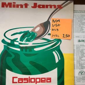 Mint jams jazz vinyl lp plade med fede numre til grammofon super stand