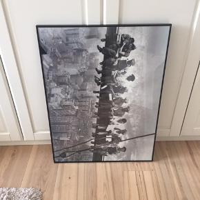 Sort skifteramme 60x81 cm