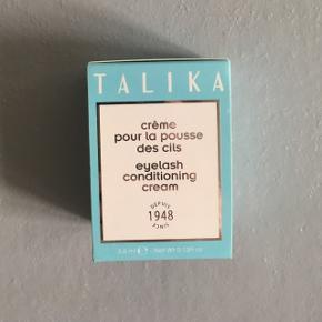 Ny og uåbnet vippeserum fra Talika. Giver længere og mere fyldige vipper.  Nypris 180 kr.  Fejler intet - sælges pga. graviditet. Kan afhentes på Amagerbro.