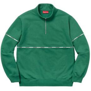 Supreme half zip pipe logo sweatshirt Cond 8, ikke nogle flaws eller stains. Str m fitter 170-185. Køb nu til 995 kr.  BYD