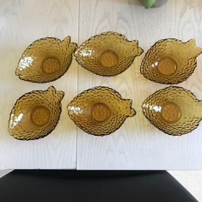 6 skønne glas salatskåle  Sælges samlet mp 100kr  Randers nv ofte Århus Ålborg København mm  Til salg på flere sider