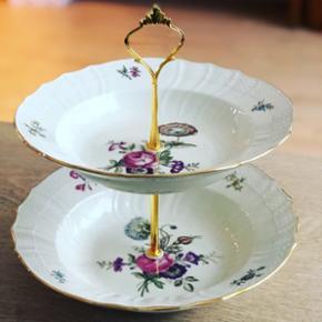 Frijsenborg opsats med store dybe tallerkener. Helt uden fejl og skår!   Forsendelse 50kr   #royalcopenhagen #frijsenborgporcelæn