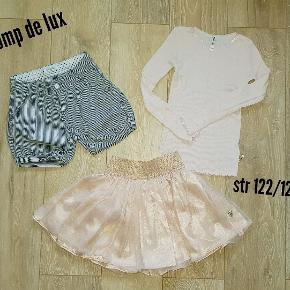 Tøj pakke fra pomp de lux str 122/128 Som nyt.