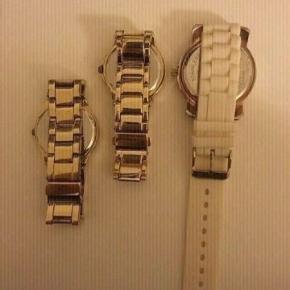Sælger mine 3 flotte ure ;)  De alle 3 virker skal blot have nyt batteri i ;)  Stk 75kr