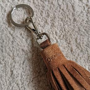 Læder nøglering 20 cm