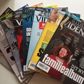 Illustreret Videnskab.  8 numre, helt nye og ikke læst. 350 kr (stk.pris er 82,50 kr)   20 numre der er læst. 750 kr  (købspris 1650 kr)  Tag allesammen for 900 kr 😃