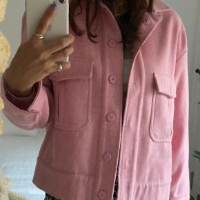 Ganni Woll Jacket Size: 34 It has a stain on the chest area, please check out the picture.