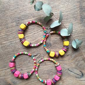 Handmade ⚡⚡⚡ hand crafted and handpainted wooden beads