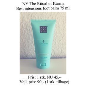 Brand: Rituals Varetype: Foot balm Str.: 75 ml.   Ny og uåbnet ☀️