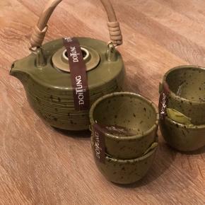 Japansk te kande sæt med 4 kommer helt nyt