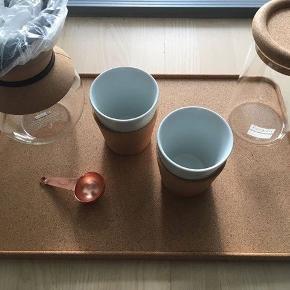 Bodum kork og kaffe serie - helt ny/aldrig brugt. Afhentes på Bryggen.