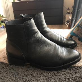 bianco skind støvler