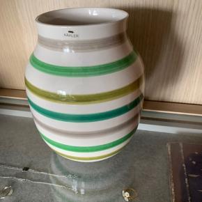 Kähler vase multigrøn uden fejl