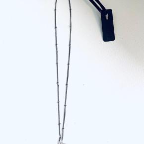 Splinterny halskæde med mærke fra Pure Sterling sølv Købt for 400,-