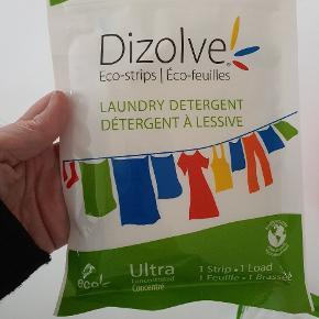 Dizolve vaske stribs  Super nemme stribs  Der skal kun en strib til en vask  Parfumeri 🦋🦋 Der er 5 hele  pakker og en der er taget et par stk af  Fylder intet og er super nemt