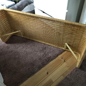 Sengegavl i flet til en 120 bred seng, den er 55cm høj