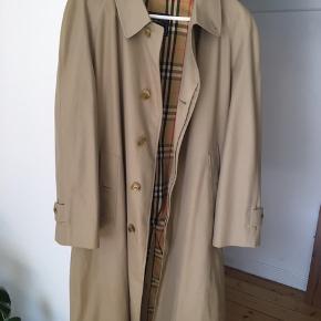Vintage Burberry frakke Original