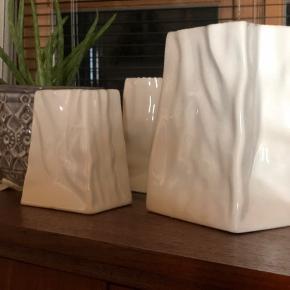 Krøllevaser fra ELPA 3 str alle 3 for 300kr