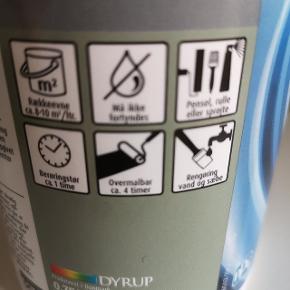 DYRUP Hæftegrunder. Maling. Der er brugt meget, meget lidt. Der er måske brugt 2-3 ml og bøtten er fra ny på 75 ml. Nypris 149 kr.