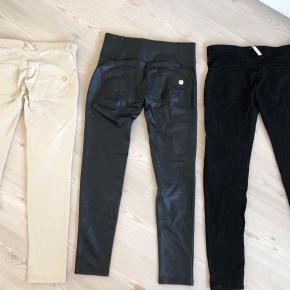 373b8da7 3 par freddy bukser str. L sælges. Alle med alm. benlængde. Bukserne