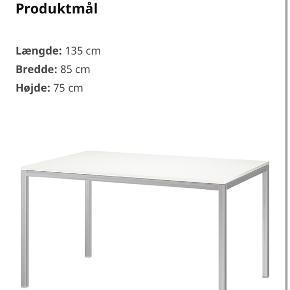 Ikea spise bord sælges, pænt og velholdt, små ridser men ikke tydelige. Nypris 899,-
