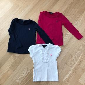 🐎Polo Ralph Lauren🐎 søde shirts, sælges samlet for kr 300