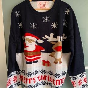 Jule sweater. Fejlkøb. Aldrig brugt.